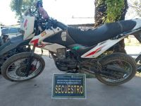 Metán: salteños detenidos por robar motos y venderlas en la zona