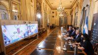 """Gustavo Sáenz le solicitó al presidente tomar """"medidas conjuntas"""" frente a la pandemia"""