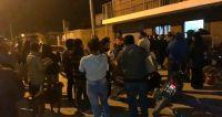 Asesinato de Roberto Tolaba: miles de vecinos del barrio Solidaridad se aglomeraron para dar el último adiós