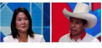 Pedro Castillo y Keiko Fujimori. Fuente (Twitter)