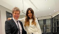 Fernando Burlando y Barby Franco Fuente:(Instagram)