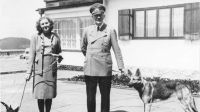 Adolf Hitler y Eva Braun. Fuente (Twitter)