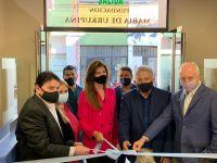 Bettina Romero participó del acto en el que ATSA inauguró el centro médico María de Urkupiña