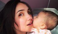 Dulce María y su hija