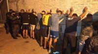 La Policía de Santa Fe reprimió con balas de goma a hinchas de Rosario Central
