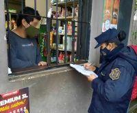 La Policía de Salta labró más de 200 infracciones por no respetar el uso del tapaboca
