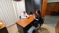 La Diputada Mónica Juárez se reunió con el Coordinador de Enlace para dialogar sobre una importante Ley en Salta