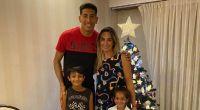 Esteban Andrada y su familia Fuente:(Instagram)