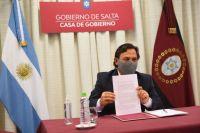 Funcionario paraguayo se reúne con Sáenz por proyectos estratégicos que repercutirán en la economía