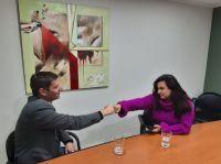 La unión hace la fuerza: Mónica Juárez y Javier David se reunieron para coordinar acciones