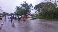 Martes trágico: SAETA desvía sus unidades por el choque mortal en San Lorenzo