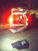La Policía incautó más de dos kilos de marihuana de una camioneta abandonada