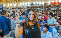 """""""Los jóvenes tenemos futuro"""": la postura segura de Michelle Canto, referente del Frente Gana Salta"""