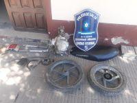 Joaquín Víctor González: la policía logró recuperar elementos robados