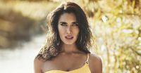Pilar Rubio enseñó el verdadero tamaño de sus curvas tras modelar con este ceñido traje de baño enterizo