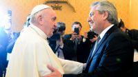 Alberto Fernández confesó qué le dijo el Papa Francisco
