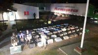 |HAY FOTOS| Gendarmería Nacional secuestró una exorbitante cantidad de coca que salió del interior salteño