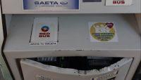 San Lorenzo: destrozaron la máquina de recargas de Saeta