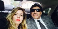 """Dalma Maradona conmovida con un emotivo mensaje a su padre: """"No me va a alcanzar la vida para agradecer"""""""