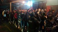 Fiesta clandestina: había 142 invitados y detuvieron al organizador