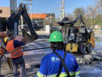 Inminente aumento en la tarifa de Aguas del Norte: admiten que no pueden cubrir las obras con sus fondos