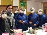Gustavo  Sáenz verificó el avance del operativo de vacunación contra COVID-19