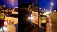 |VIDEO| Desesperación y terror: Inspectores de AMT chocaron a un supuesto remisero cuando se daba a la fuga