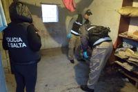Allanamientos en distintos barrios salteños terminaron con varios detenidos