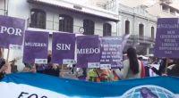 En medio de la marcha de Ni Una Menos, intentaron agredir a un periodista de Voces Críticas