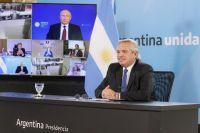 Alberto Fernández y Vladimir Putin oficializaron la producción local de la Sputnik V