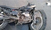 Lunes complicado: otra vez motociclistas resultaron lesionados tras protagonizar fuertes choques