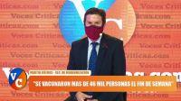 """Martín Güemes: """"La única salida de la pandemia es la vacunación"""""""