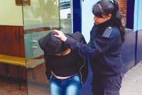 Salteñas fueron atrapadas con una importante cantidad de dosis de drogas. FOTOS