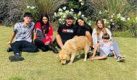 Marcelo Tinelli y sus hijos. Fuente (Instagram)