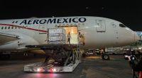 Desde México llegó un nuevo cargamento de vacunas contra el coronavirus