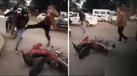 "|TERRIBLE VIDEO| Conocido Juez de Familia tuvo un día de furia: ""agarró a patadas"" a un cadete"