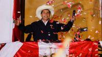 Pedro Castillo es el nuevo presidente electo de Perú