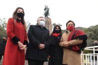 |VIDEO| Alberto Fernández y Gustavo Sáenz encabezaron los actos por el Bicentenario del fallecimiento de Güemes