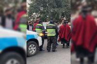 Triste postal: hubo cruces entre la policía y salteños que fueron a homenajear a Güemes
