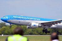 Sinopharm: parte el primer vuelo de Aerolíneas Argentinas a Beijing