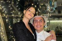Las románticas postales de Oriana Sabatini y Paulo Dybala que causaron furor