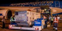 Llegó al país el segundo vuelo con dosis de Sinopharm