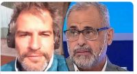 Patricio Giménez y Jorge Rial. Fuente (Twitter)