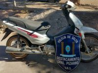 El robo de una moto terminó como nadie imaginaba en General Pizarro