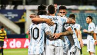 Selección Argentina. Fuente: (Twitter)