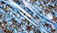 Hinchada argentina. Fuente: (Twitter)