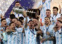 Argentina es campeón de la Copa América, y así lo celebraron en Salta