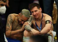El abrazo más conmovedor de la Copa América: Messi y Neymar hicieron emocionar al mundo