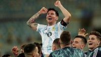 """Lionel Messi tras el título: """"Por el Diego que seguro nos bancó desde donde esté"""""""