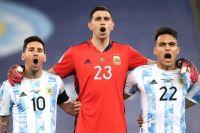 """Emiliano 'Dibu' Martínez: """"Soy sincero, tenía más ganas de que fuera campeón Lio Messi que yo"""""""